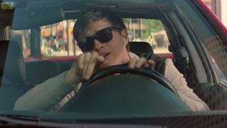Уход от полиции под музыку.Малыш на драйве Baby Driver (2017) Фрагмент