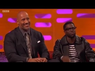 Graham Norton Show S22E10: Dwayne Johnson, Kevin Hart, Jessica Chastain, Dawn French, Rebel Wilson