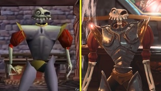 MediEvil Remaster vs Original Early Graphics Comparison