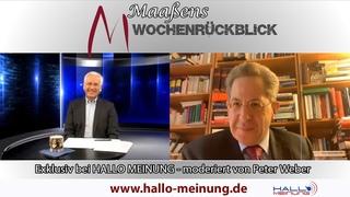 Maaßens Wochenrückblick -  moderiert von Peter Weber