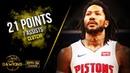 Derrick Rose Full Highlights 2019 12 09 vs Pelicans 21 Pts 7 Asts CLUTCH FreeDawkins
