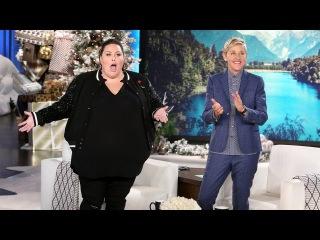 'This Is Us' Star Chrissy Metz Joins Ellen