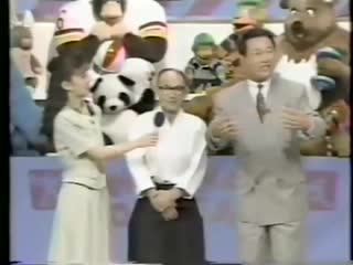 Gozo shioda takes out japanese game show host