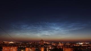 Noctilucent clouds 10 06 2020, Lipetsk