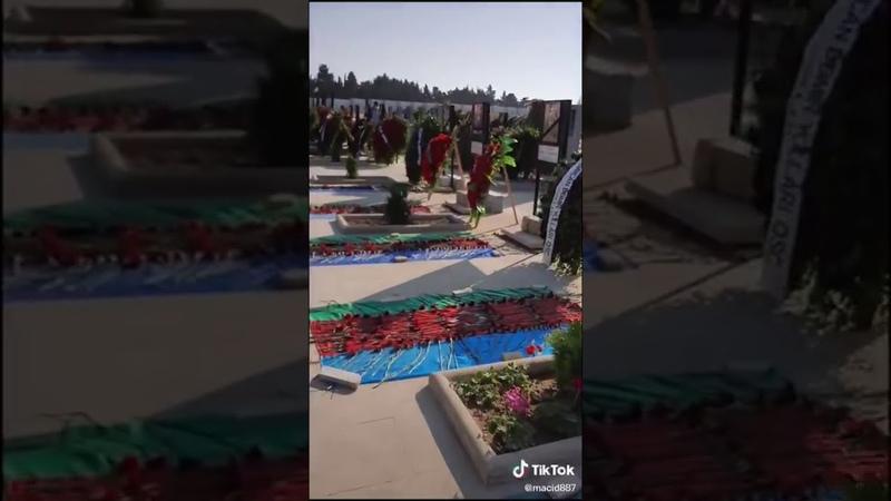 ПРОСТО УЖАС Огромное Количество Могил в Азербайджане из за Войны Когда Же Закончится Война