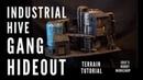 40K Terrain - INDUSTRIAL HIVE GANG HIDEOUT! - Scratch build tutorial for Necromunda, Kill Team