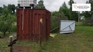 Участок 6 соток с контейнером в снт Ромашка, д. Самарино Александровского района.