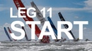 Leg 11 Start – Gothenburg to The Hague – Full Replay | Volvo Ocean Race