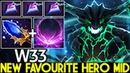 W33 Outworld Devourer New Favourite Hero Mid Scepter One ULT Kill 7 24 Dota 2