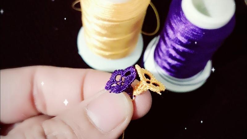 İğne oyası minyatür çiçek yapımı bayılacaksınız (farklı çiçek modelleri yapılışı) needlelace flower