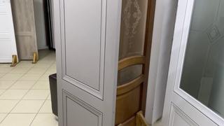 Межкомнатные двери Деканто в сером и белом цвете! Популярная модель! ГОСТ