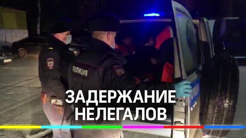 Полиция задержала 26 нелегальных мигрантов в Балашихе