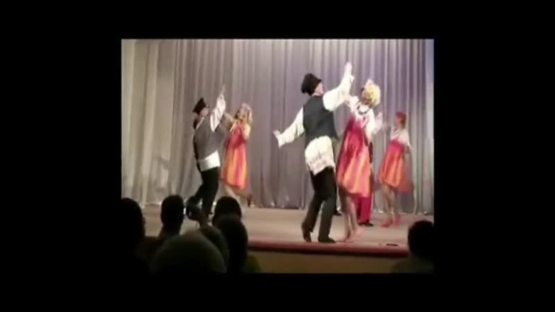 Коллектив Ахиллес го Ивантеевка танец Кадриль