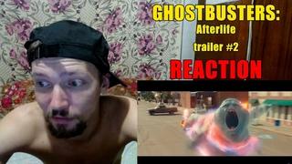 Охотники За Привидениями: Наследники Трейлер #2 Реакция Ghostbusters: Afterlife Trailer #2 Reaction