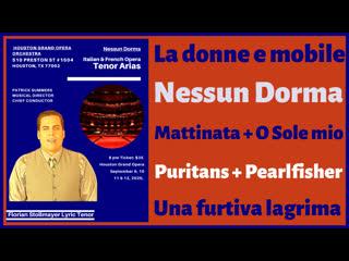 La donne e mobile, Nessun Dorma, The Puritans, O Sole mio... by Florian Stollmayer Tenor
