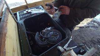 Замеряем компрессию на двигателе ваз ОКА  (КЕРЖАК К800м)