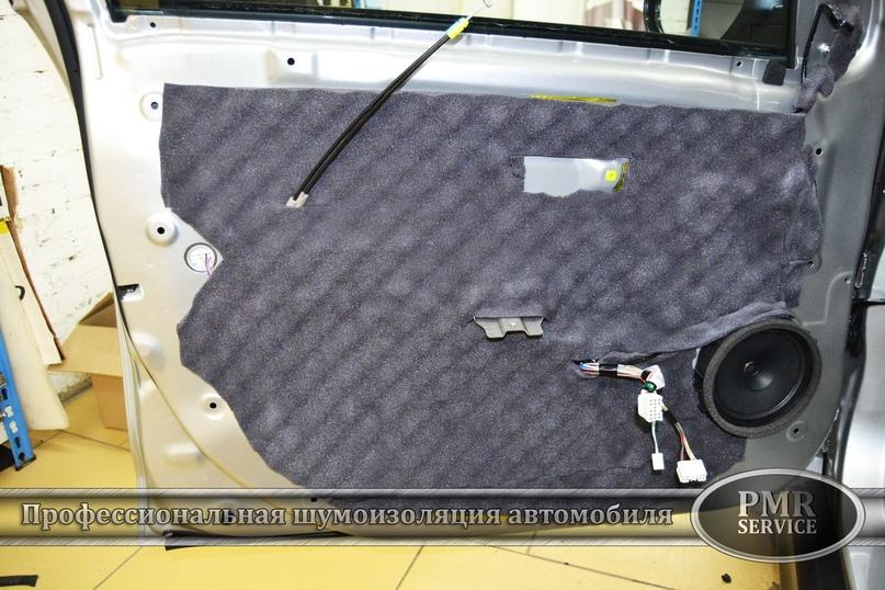 Комплексная шумоизоляция Mitsubishi ASX, изображение №11