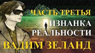 Изнанка реальности Живые уроки Вадима Зеланда - Часть 3