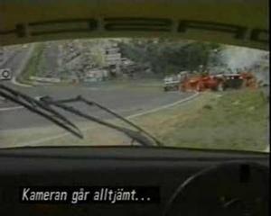 1985 Spa crash Bellof - Ickx