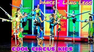 """Cool circus kids. Цирковое шоу  -""""Аватарские игры"""". Эквилибр на ходулях «Танец – длинноногих»."""