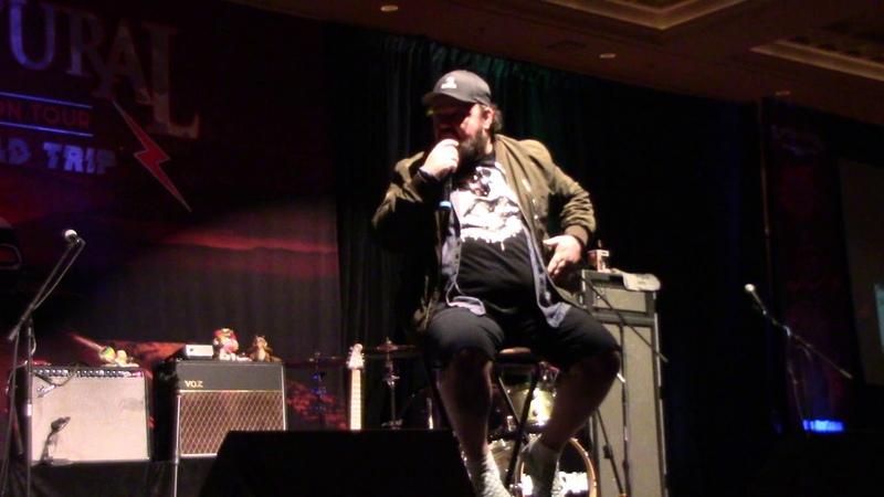 2020 Salute to Supernatural Las Vegas Chris Gauthier