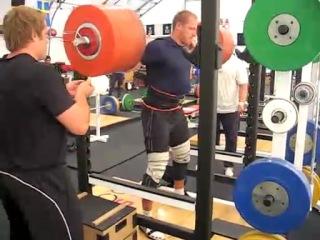 MUSCU SQUAT 2X275kgs Gerd KANTER