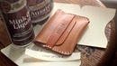 Make a Leather Flap Wallet TUTORIAL FREE PATTERN