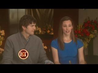 ET. Jennifer Garner and Ashton Kutcher о фильме День Святого Валентина (2010)