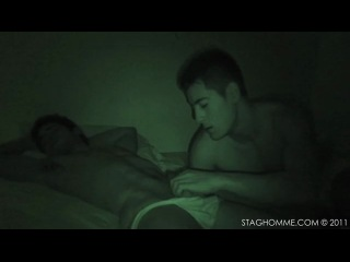 From dusk till dawn - molesting your straight friend while he sleeps