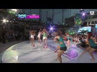 120628 SISTAR - Sexiest Performance on 2012 Mnet 20's Choice