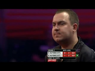 Kim Huybrechts vs Ronny Huybrechts (PDC World Darts Championship 2014 / Round 1)