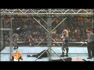 The Hardy's vs The Dudley's (Steel Cage Match) - WWF Survivor Series 2001