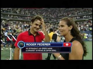 Roger Federer Greatest Shot of Life Interview HQ
