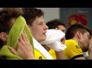 Łzy fanów i zawodników PGE Skry po przegranym secie wideo Polsat Sport