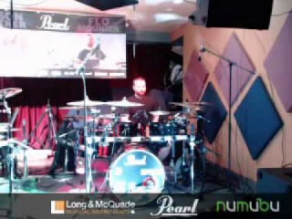 Jason Bittner & Flo Mounier Live Pearl Drums Clinic at Long & McQuade &