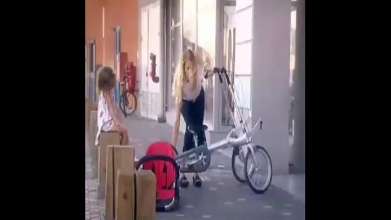 Tek Kelimeyle Muhteşem Anne Çocuk bisikleti