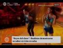 Thiago Cunha y Thati comentan sobre Baile de Salsa en LRDS