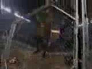 WWF - The Rock Vs Chris Benoit Steel Cage 2/2