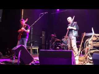 "Stick Men - ""The Firebird Suite part 1 - 4"" (King Crimson Festival, club Kosmonavt, Spb, )"