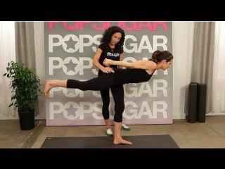 Master the Warrior 3 Pose With Jennifer Aniston's Yoga Instructor