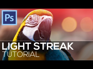 How To Create Light Streaks in Photoshop!\\j