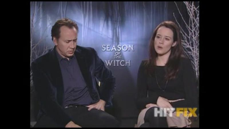 2011 › Интервью для HitFix в рамках промо тура фильма Время ведьм