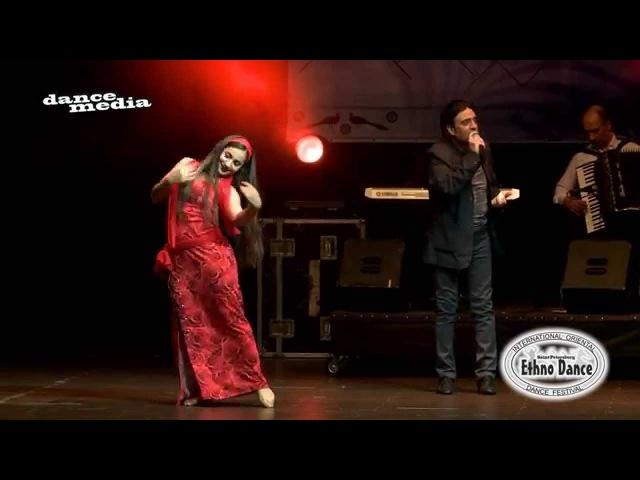 Ani Avagimyan Habibi Ya Aini Improvisation Ethnodance 2015