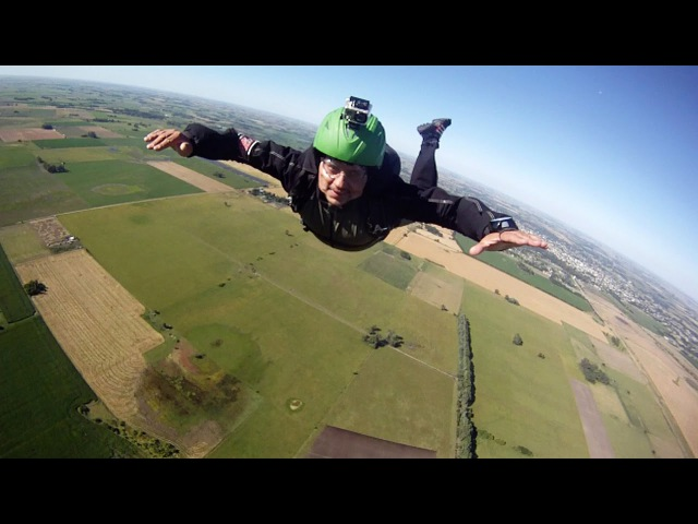 Friday Freakout Skydivers FORGET To Pull Parachute Saved By AAD Altitude Awareness Fail