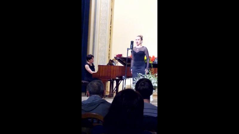 Будинок актора Вечір вокальної музики італійських і французьких композиторів