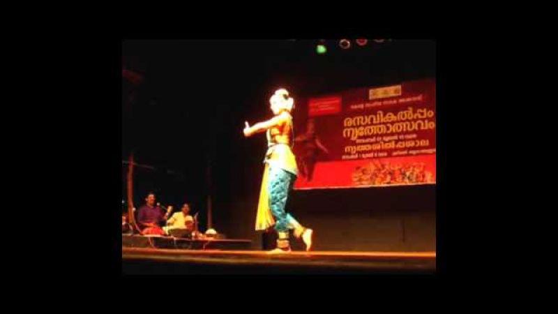 Rasavikalpam 2015 Dance Festival Bharatha Natyam By Meenakshi Sreenivasan