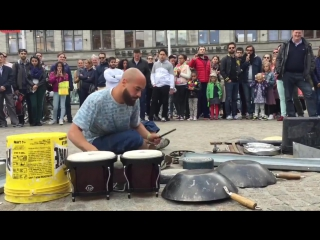 I LOVE MINIMAL TECHNO. Невевероятный   Dario Rossi Drummer в Амстердаме. Наслаждайтесь