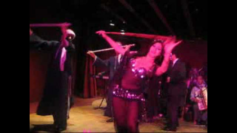 Aziza Egyptian Belly Dancer in Cairo at Semiramis Hotel - Saidi