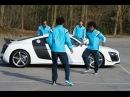 Hazard Willian Ake and Remy take on the Audi challenge…