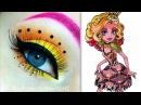 Monster Highs Gooliope Jellington Makeup Tutorial